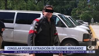 Otorgan suspensión provisional al exgobernador de Tamaulipas contra posible extradición