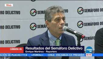 Semáforo Delictivo presenta cifras de crímenes en México