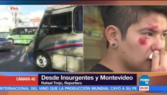 Tráiler atropella a cinco personas en Insurgentes y Montevideo