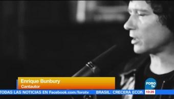 #LoEspectaculardeME: Enrique Bunbury lanza su nuevo disco
