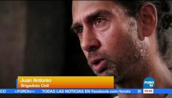 Testimonio de brigadista de Israel que ayudó en la Ciudad de México