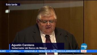 Inflación alcanzó su techo: Agustín Carstens