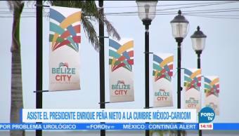EPN participa en la cumbre Caricom