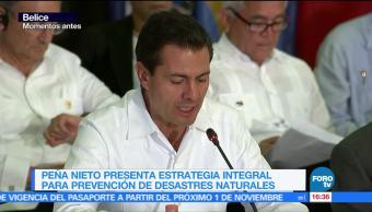 EPN participa en IV Cumbre México-Caricom