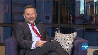 Leo Zuckermann entrevista al Nobel de Economía, Paul Krugman