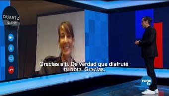 Genaro Lozano entrevista a Ephrat Livni