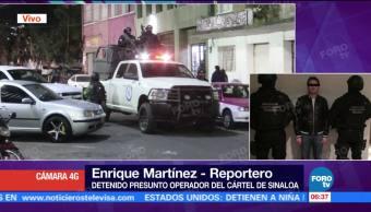 Llega a la SEIDO el presunto operador financiero de Joaquín 'El Chapo' Guzmán