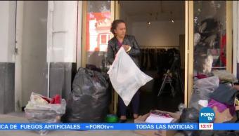 'Boutique con causa' apoya a damnificados de sismos en México