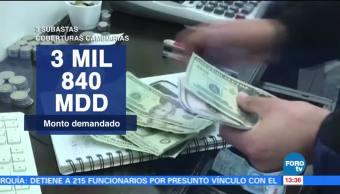 Banxico asigna mil mdd por coberturas cambiarias