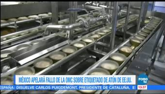México apelará el fallo de la OMC