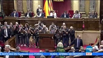 Este viernes se decidirá el futuro de CataluñaEste viernes se decidirá el futuro de Cataluña