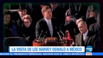 Asesino de John F. Kennedy visitó México un mes antes del magnicidio
