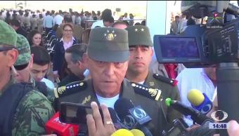 General Cienfuegos pide reformas al Sistema de Justicia Penal