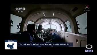 Prueban dron de carga en China