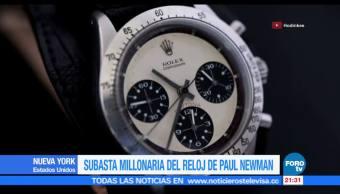 Subastan en NY el Rolex Daytona de Paul Newman