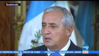 Otto Pérez Molina va a juicio por presunta corrupción