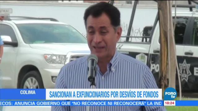 Sancionan al exgobernador de Colima por presuntos desvíos de fondosSancionan al exgobernador de Colima por presuntos desvíos de fondos