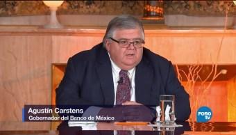Carstens pide mayor seguridad para aumentar inversiones en México