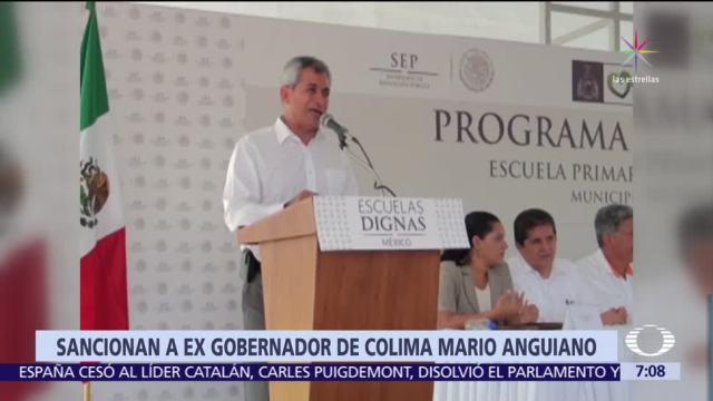 Congreso de Colima aprueba sanciones contra 13 exfuncionarios