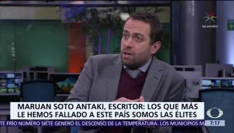 Maruan Soto Antaki invita pensar en México