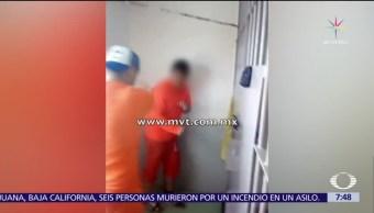 Familiares denuncian red de extorsión en Penal Neza Bordo