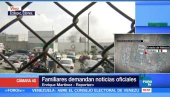 Controlan motín en Penal de Chiconautla en Ecatepec, Edomex