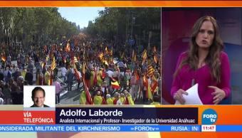 Adolfo Laborde analiza el panorama en Cataluña