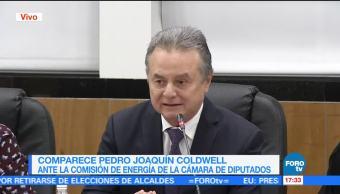 Coldwell comparece ante diputados en San LázaroColdwell comparece ante diputados en San Lázaro