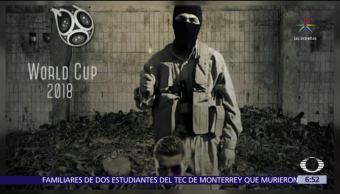 Estado Islámico vuelve a amenazar al Mundial de Futbol 2018