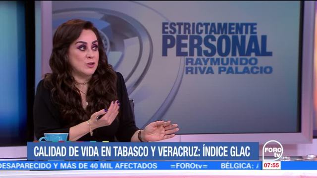 La calidad de vida en Tabasco y Veracruz