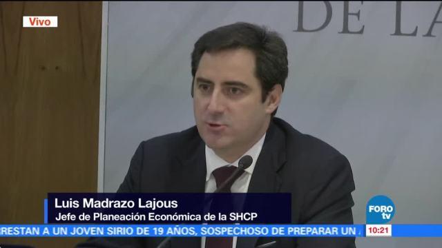 SHCP presenta el informe de las finanzas públicas