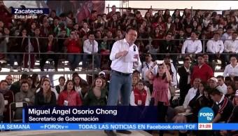 Alto a la violencia de género: Osorio Chong