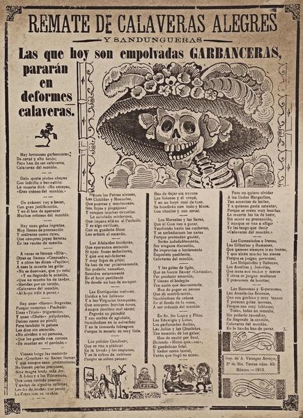 calavera-garbancera-catrina-historia-origen