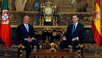 Presidente luso transmite a Felipe VI que Portugal no reconoce independencia