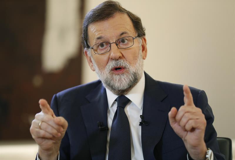Gobierno impedirá cualquier declaración independentista de Cataluña: Rajoy