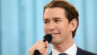 Austria da vuelco a la derecha con victoria del conservador Sebastian Kurz
