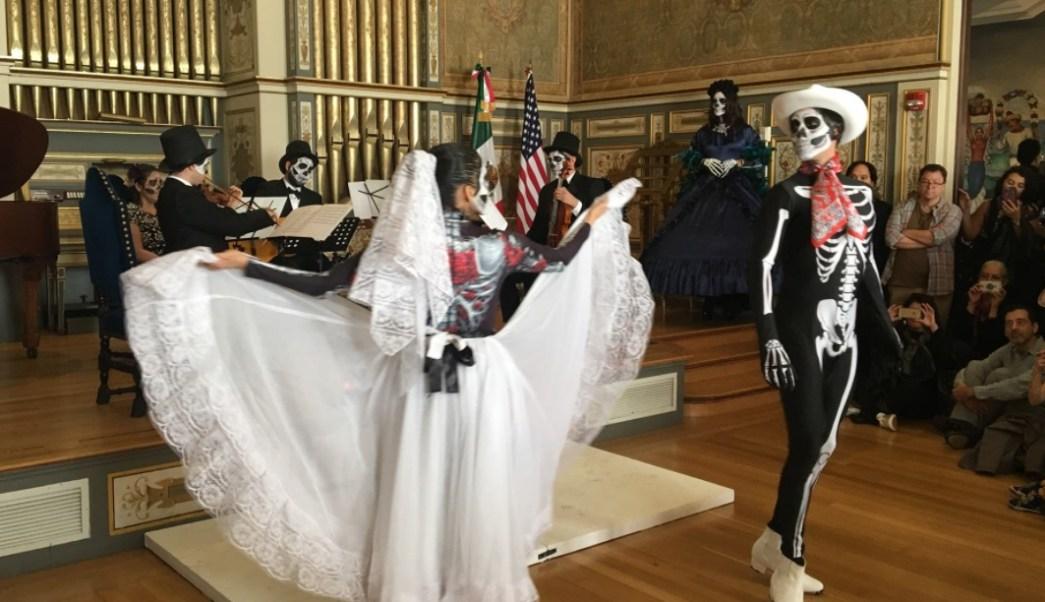 Celebran el Día de Muertos en Washington
