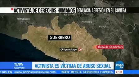 Activista Víctima Abuso Sexual Fiscalía General Guerrero