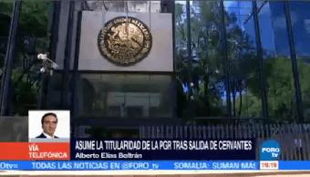 Alberto Elías Beltrán Asume Titularidad Pgr Procuraduría General De La República