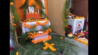 Altar zoque, tradición de Día de Muertos en Chiapas