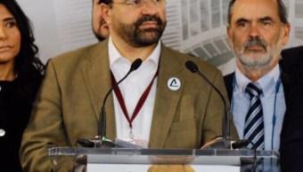 Álvarez Icaza ya no buscará candidatura independiente Presidencia