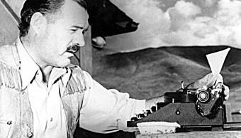 Hallan el primer cuento escrito por Ernest Hemingway