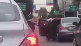 PGJ-CDMX investiga asalto a automovilista en avenida Patriotismo