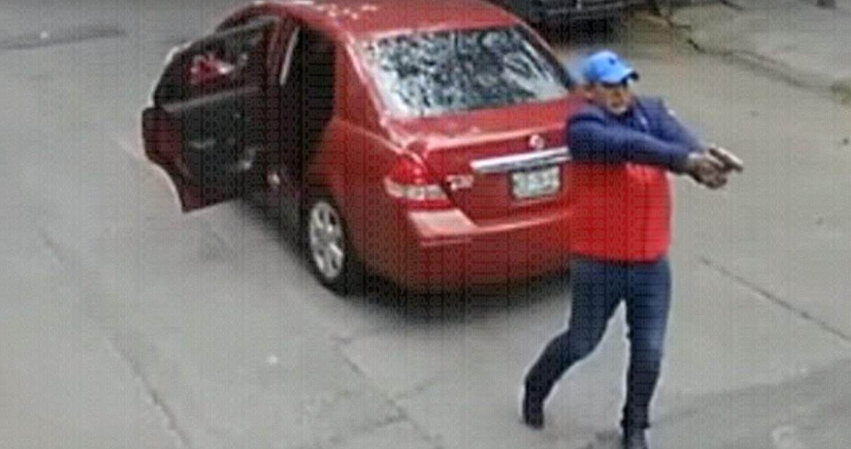Captan asalto a mano armada en la CDMX