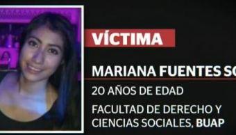detienen responsables homicidio estudiante mariana fuentes