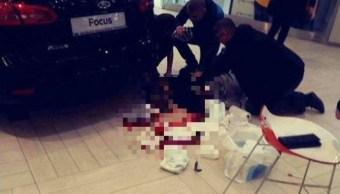 Ataque con cuchillo en centro comercial de Polonia deja un muerto y heridos