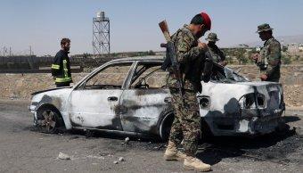 ataques perpetrados talibanes afganistan 30 muertos