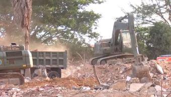 Avanza demolición de Hospital General de Juchitán