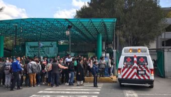 Estudiante recibe balazo en la pierna dentro del Colegio de Bachilleres 7