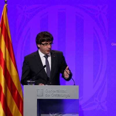 Puigdemont retrasa al martes su comparecencia en el Parlamento regional